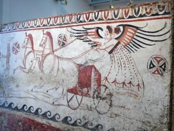 tomb paintings, archaeological museum, Paestum, Salerno ... |National Archaeological Museum Paestum