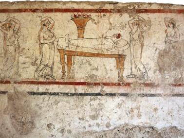 Paestum archaeological museum Stock Photo, Royalty Free ... |National Archaeological Museum Paestum