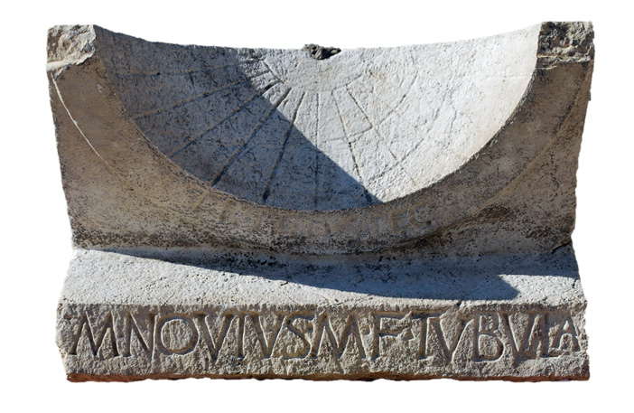 Object lesson: the sundial of Marcus Novius Tubula