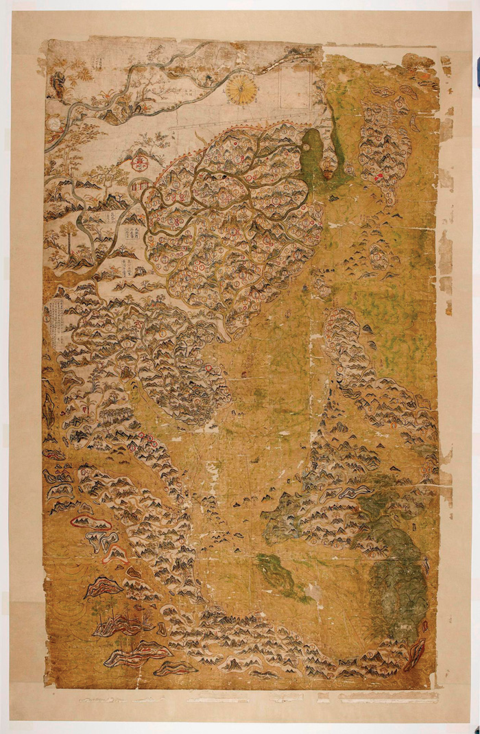 selden map of china Object Lesson Selden Map Of China World Archaeology