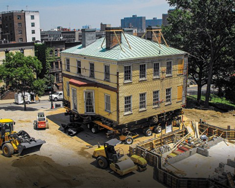 Hamilton Grange being moved to new location