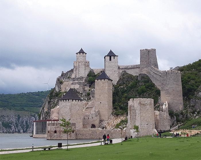 Golubac castle on the Danuble