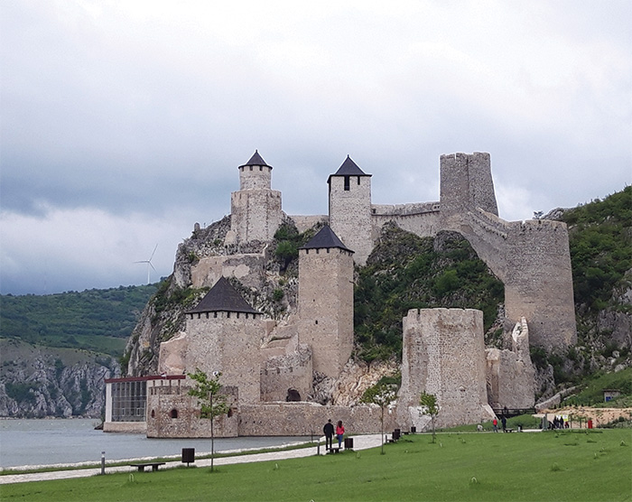 Golubac castle on the Danuble