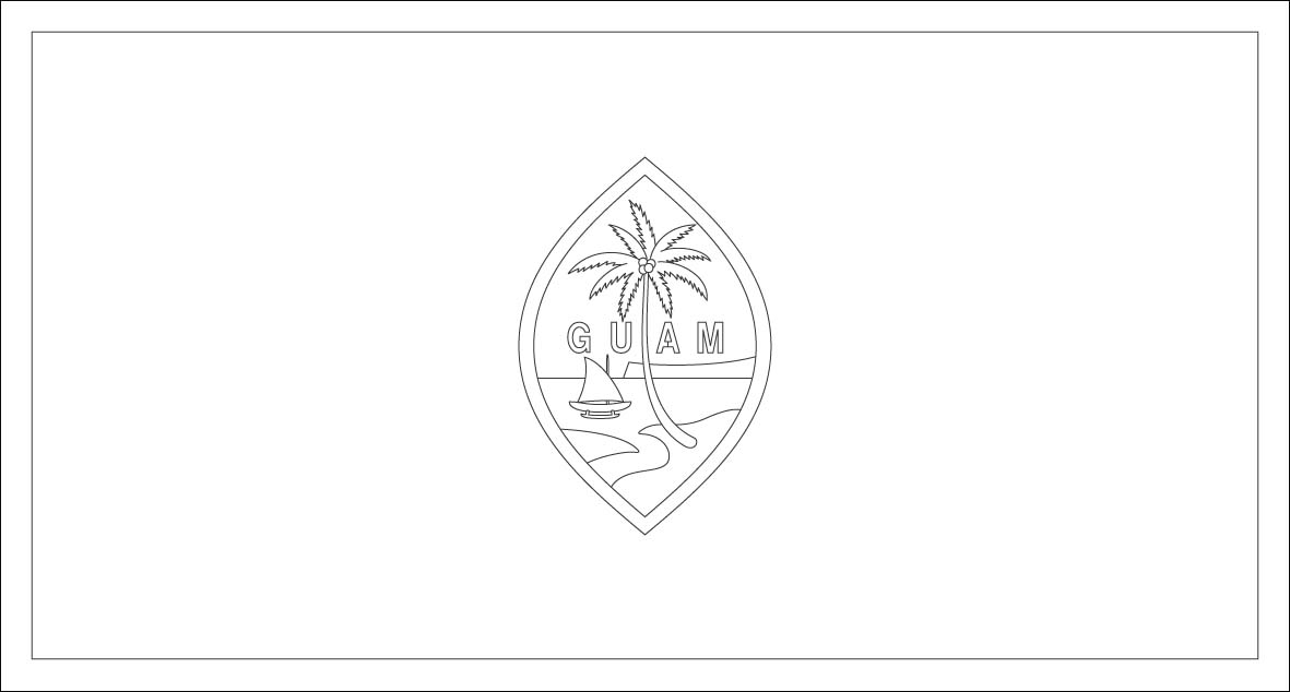 Haiti Printable Coloring Book Pages