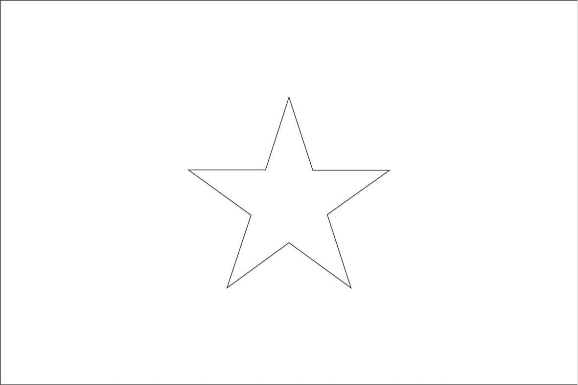 Somalia flag coloring page for Vietnam flag coloring page