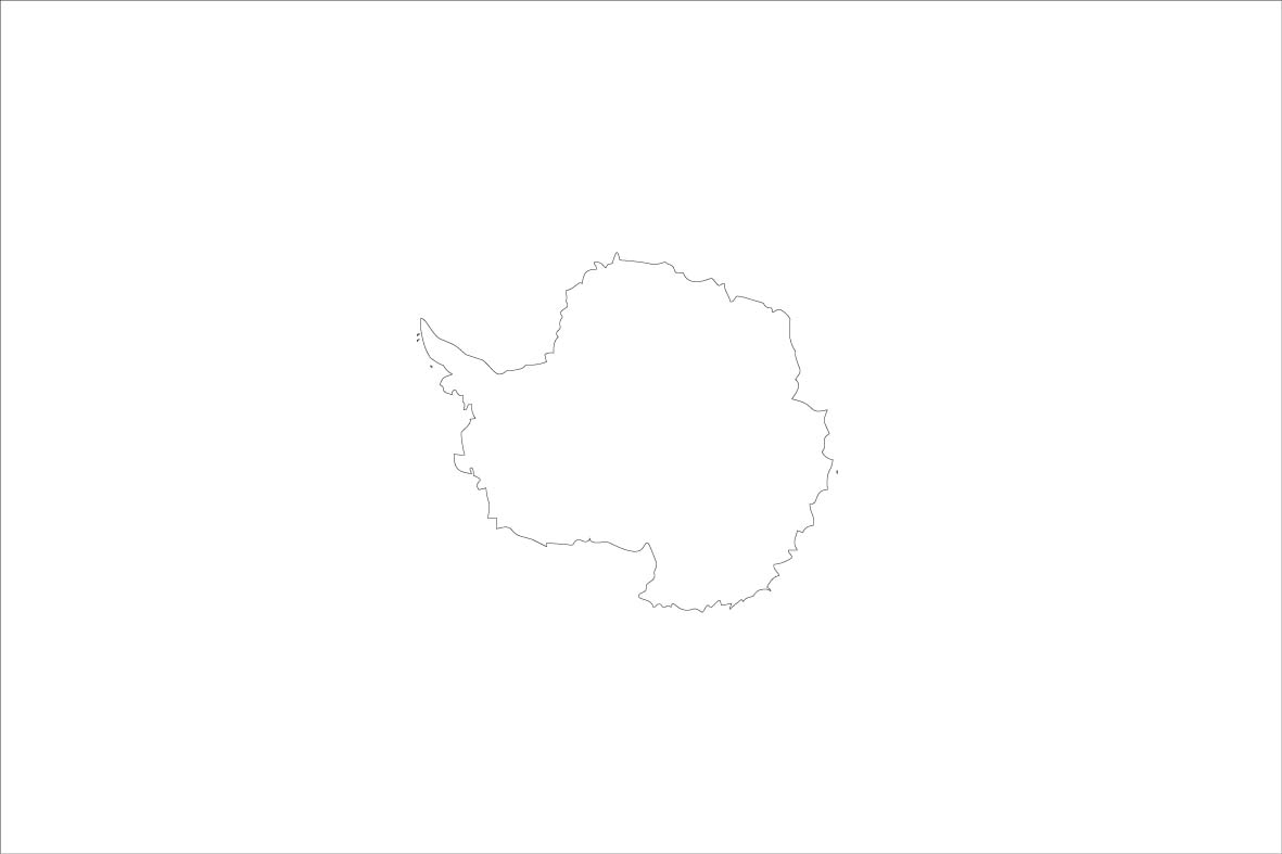 Antarctica Coloring Sheets