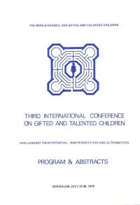 1979 Jerusalem Conference Program