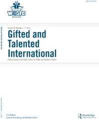 Gifted and Talented International, Volume 30 Cover