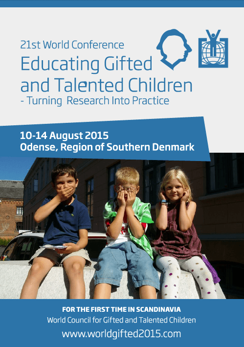 2015 World Conference Program Cover Odense Denmark
