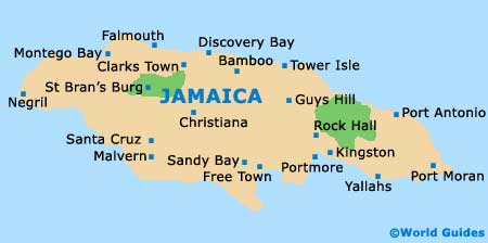 Negril Jamaica Map 2014