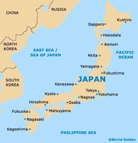 Mapa Fukuoka Japón