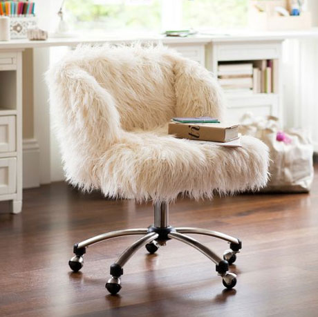 chaise de bureau top moumoute