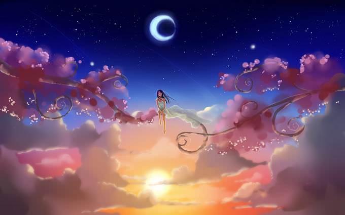 Daydreaming Cartoon Love