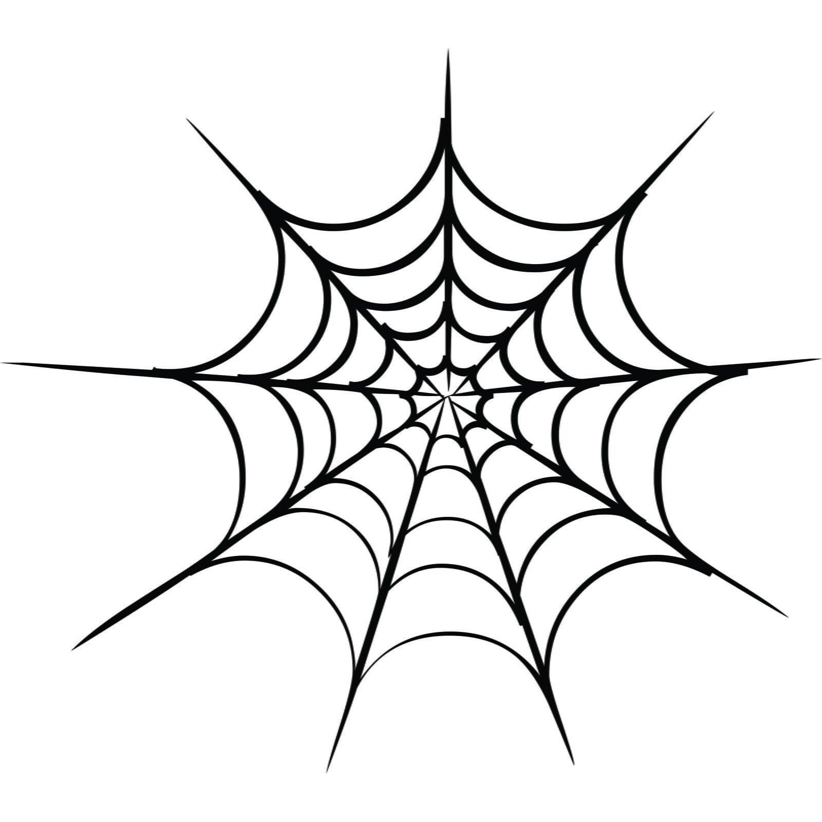 Spiderweb Halloween Wall Sticker