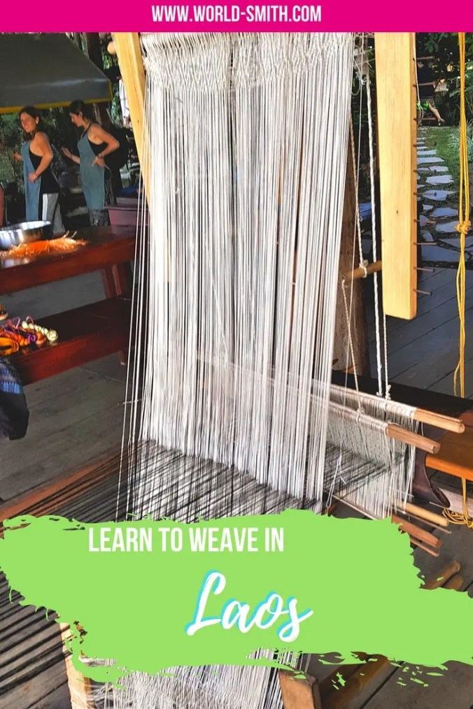 Weaving in Laos with Ock Pop Tok