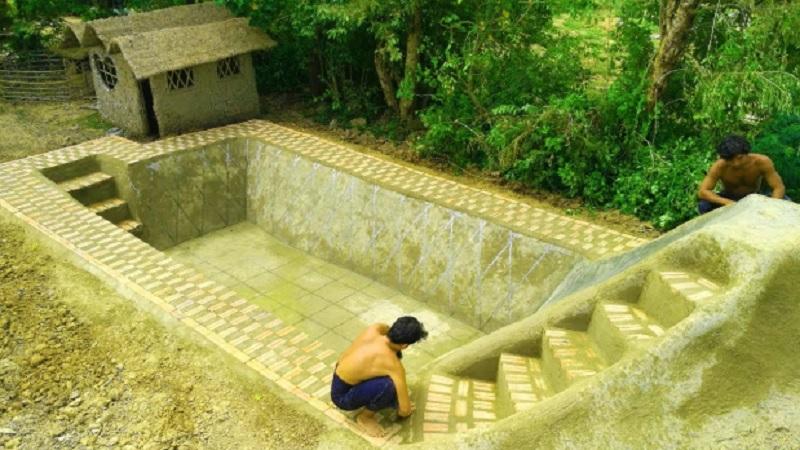 Build Swimming Pool Underground (VIDEO)