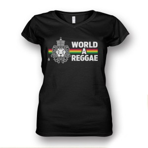 LAdies V Neck World A reggae