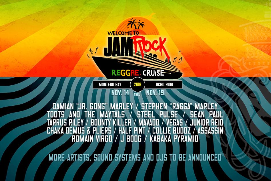 Welcome to Jamrock Reggae Cruise 2016 –Reggae Magazine