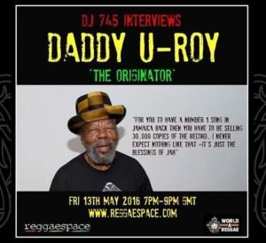 U Roy Interview