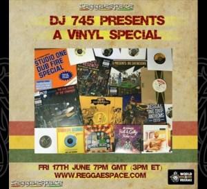 DJ 745 Vinyl Special