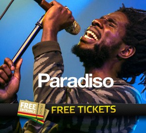 Chronixx in Paradiso