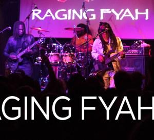 VIDEO: Raging Fyah Live at Sugarfactory Amsterdam 2017