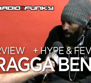 Interview Spragga Benz in Leicester UK, August 2018
