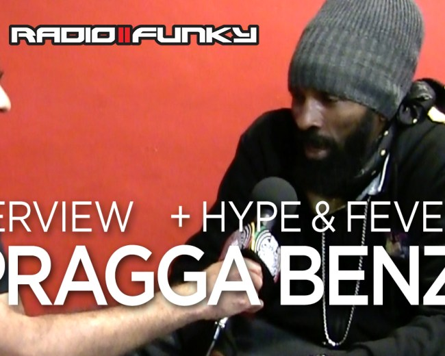 Interview Spragga Benz in Leicester UK, August 2018
