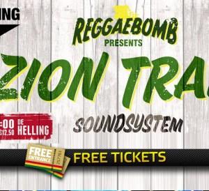 2x 2 Free Tickets to Zion Train & Reggae Bomb, Nov. 30, 2018