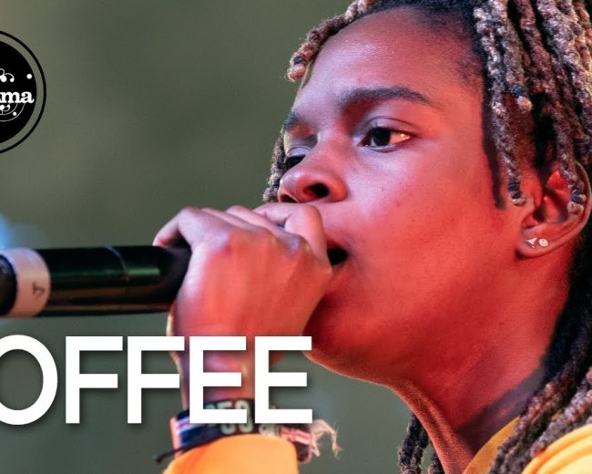 Koffee live in Antwerp