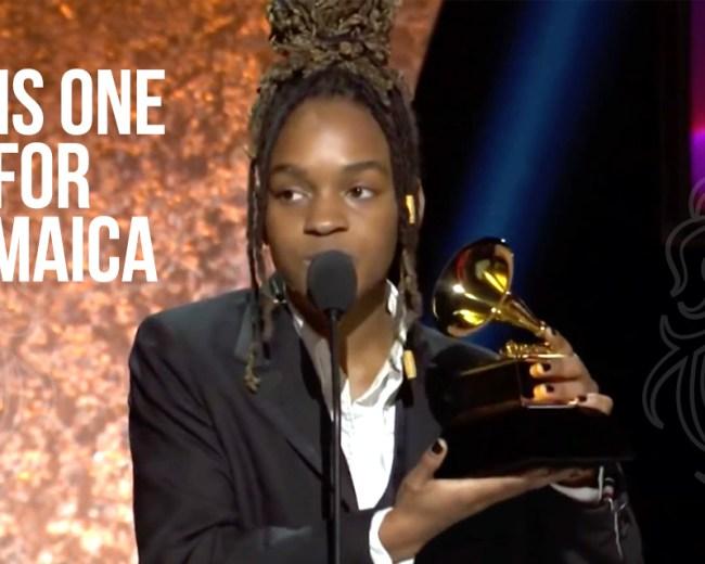 Koffee wins Grammy Rapture