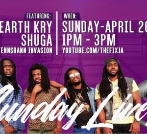 Sunday Live: EarthKry & Shuga