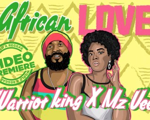 Warrior king African love