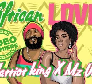 Warrior king African love