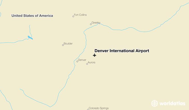 Denver International Airport DEN WorldAtlas