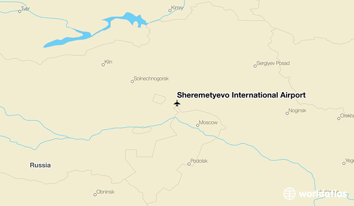 Moscow Arrivals Airport Sheremetyevo