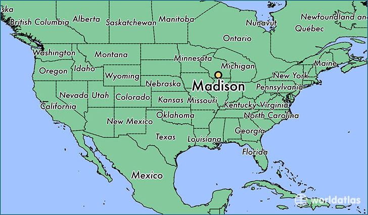 Image result for madison wisconsin map