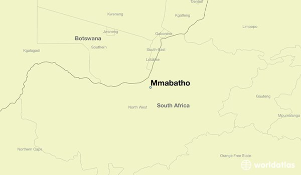 Where is Mmabatho, South Africa? / Mmabatho, North-West ...