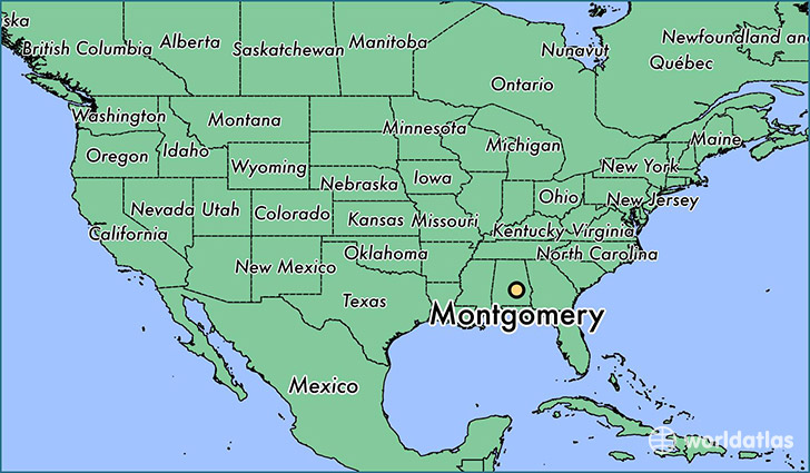 Image result for montgomery alabama map