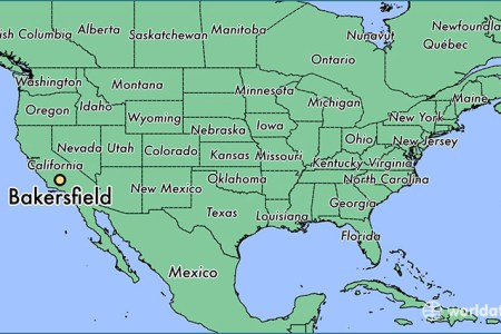 bakersfield location on the us map » Another Maps [Get Maps on HD ...