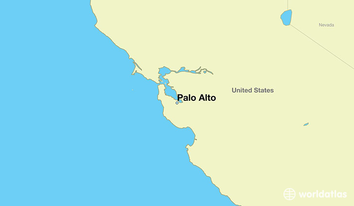 East Palo Alto California Map