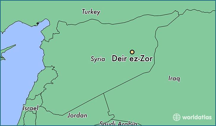 Deir ez-Zor in Syria