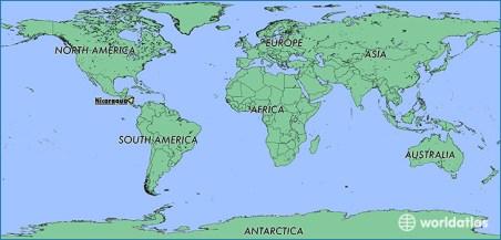 Αποτέλεσμα εικόνας για nicaragua on a map