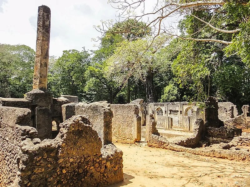 Image result for gedi ruins