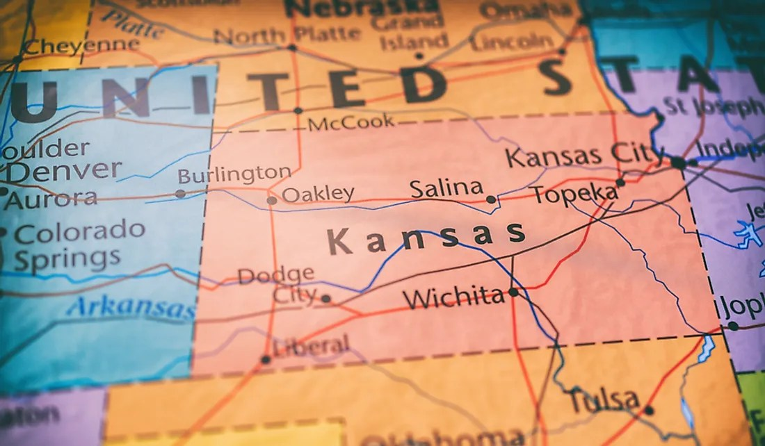 Find local businesses, view maps and get driving directions in google maps. Which States Border Kansas Worldatlas