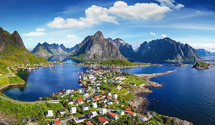 os países mais ricos do mundo - noruega