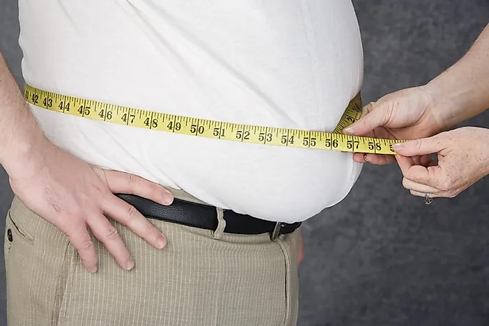 29 Most Obese Countries In The World