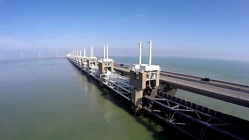 #2 Delta Works/ Zuiderzee Works - the Netherlands