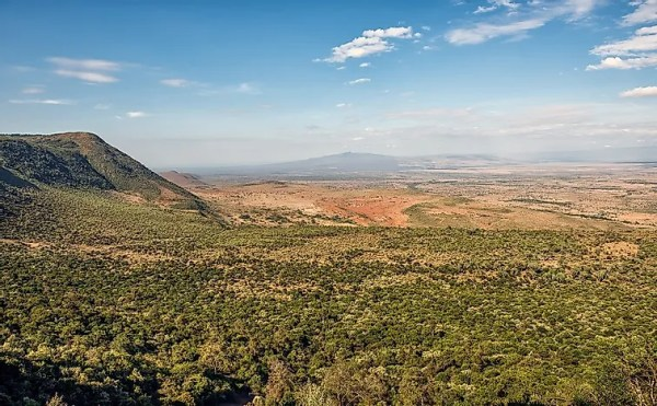 Eastern Rift Valley (Gregory Rift) - Geography of Africa ...