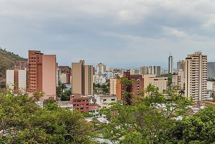 Apesar de seu ranking inseguro, o turismo ainda é uma indústria importante na Colômbia.